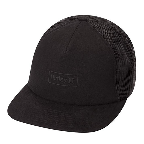 Hurley Boy's Hat - Locked Trucker - Black