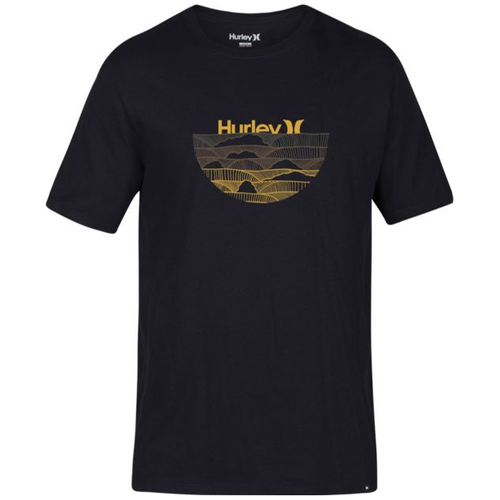 Hurley Tee Shirt - Core One and Only - Black