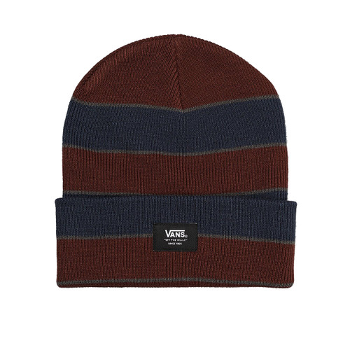 Vans Beanie - Striped Cuff - Port Royale/Dress Blues