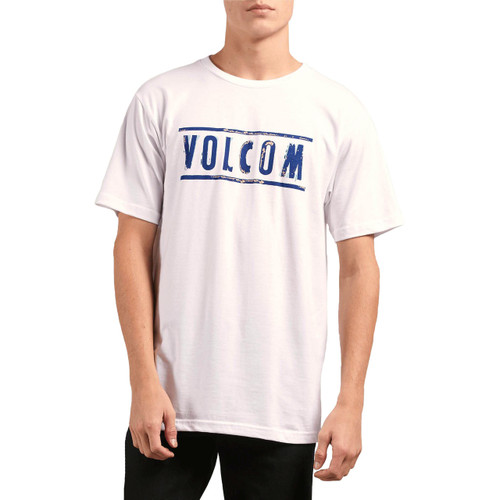 Volcom Tee Shirt - Double - White