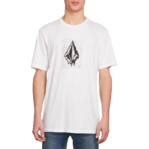 Volcom Tee Shirt - Drippin Out - White