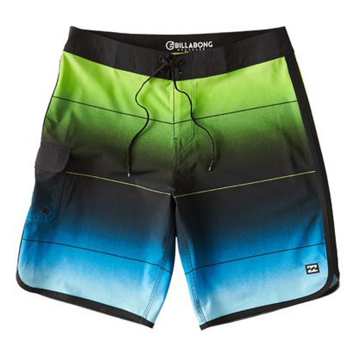 Billabong Boardshorts - 73 Stripe Pro - Neon Green