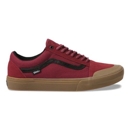 Vans Shoes - Old Skool Pro BMX - Ty Morrow/Biking Red/Gum