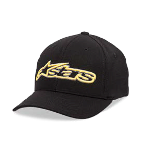 Alpinestars Hat - Blaze Mock Mesh - Black/Gold