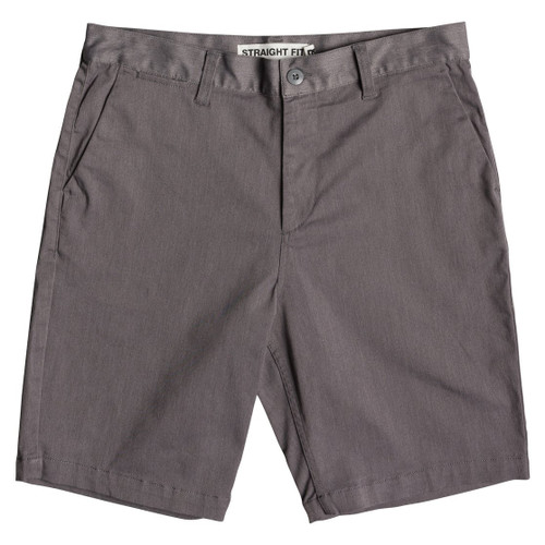 DC Shorts - Worker Straight Heather - Steel Grey