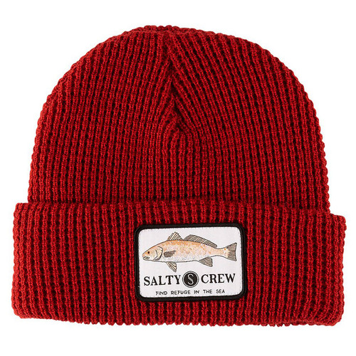 Salty Crew Beanie - Spot Tail - Rust