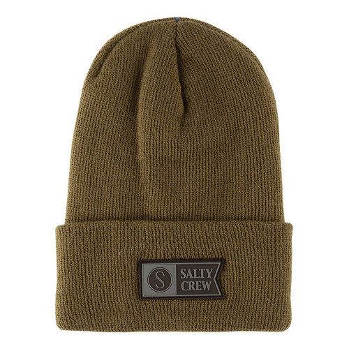 Salty Crew Beanie - Step Up - Olive