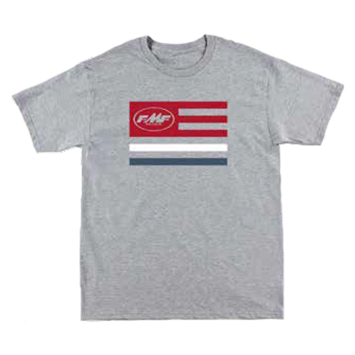 FMF Tee Shirt - Banner - Heather Grey