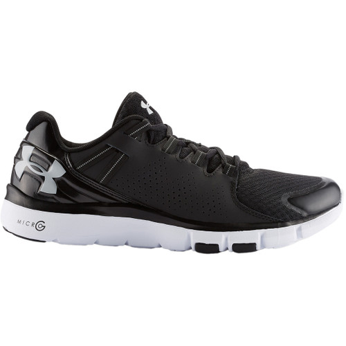 Under Armour Shoes - Micro G Limitless - Black/White/Aluminum