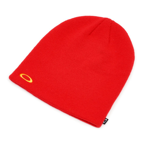 Oakley Beanie - Fine Knit - High Risk Red