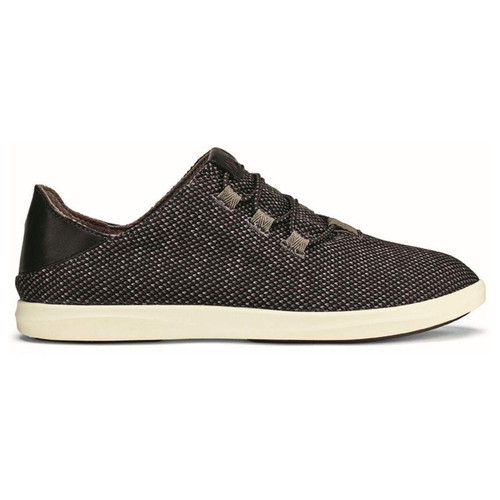 OluKai Women's Shoe - Hale'iwa Li Ha'a - Black/Off White