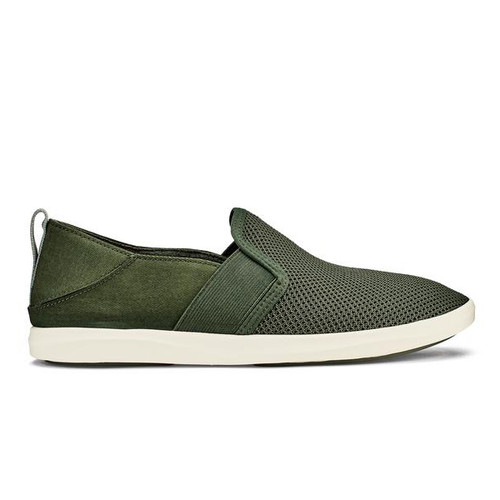 OluKai Women's Shoe - Hale'iwa - Deep Olive/Dusty Olive