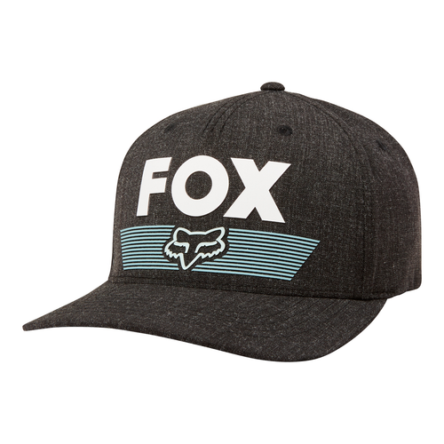 6e3d86663 Fox Hat - Epicycle Flexfit - Black/Black - Surf and Dirt