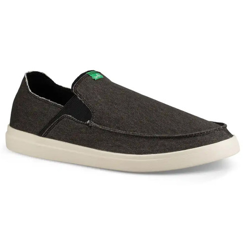 Sanuk Shoes - Pick Pocket Slip-On Sneaker - Black/Natural