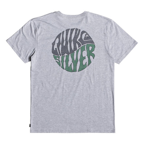 Quiksilver Tee Shirt - Knock Out - Athletic Heather