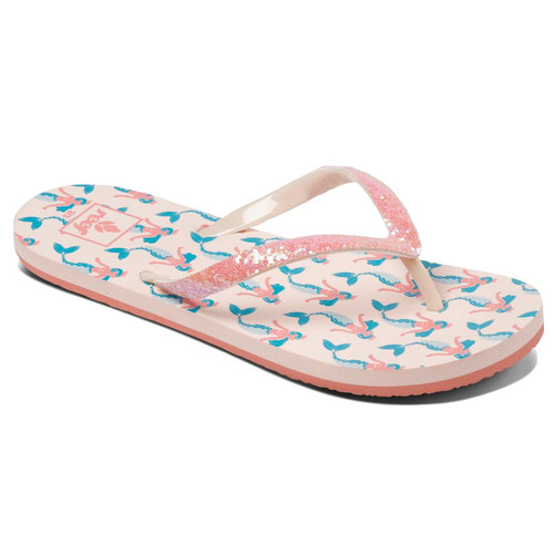 Reef Girl's Flip Flop - Little Stargazer - Mermaid