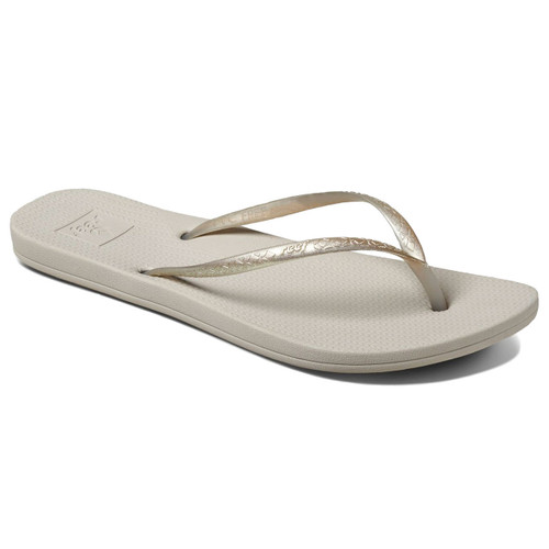 Reef Women's Flip Flops - Reef Escape Lux Metals - Silver