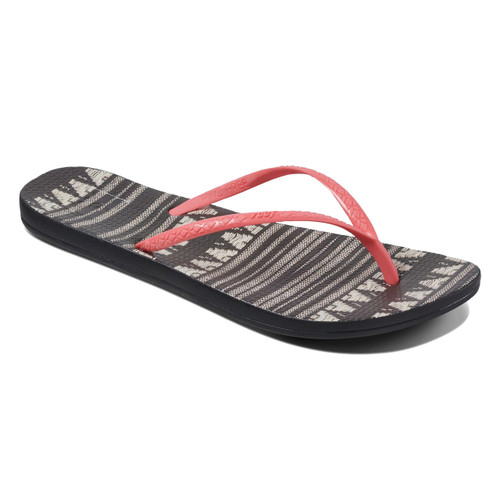 Reef Women's Flip Flops - Reef Escape Lux Prints - Blanket Stripe