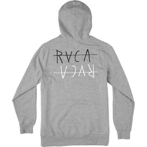 RVCA Hoody - Horton Flipped - Athletic Heather