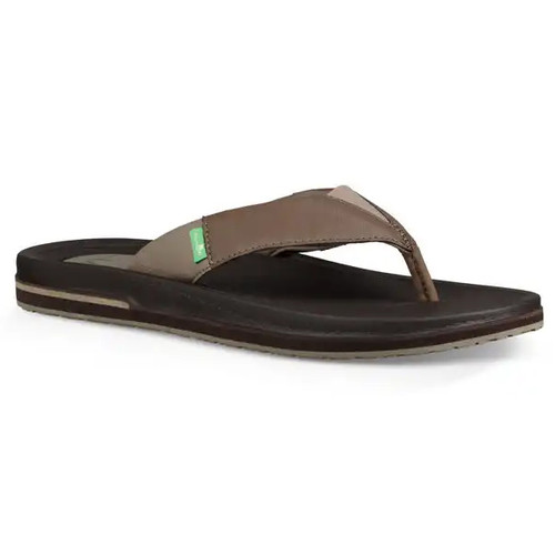 Sanuk Flip Flop - Beer Cozy 3 - Brown