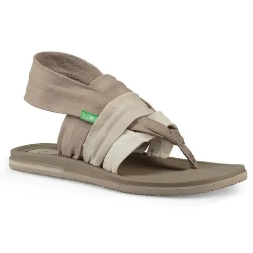 Sanuk Women's Flip Flop - Yoga Sling 3 - Gradient Peyote/Turtledove