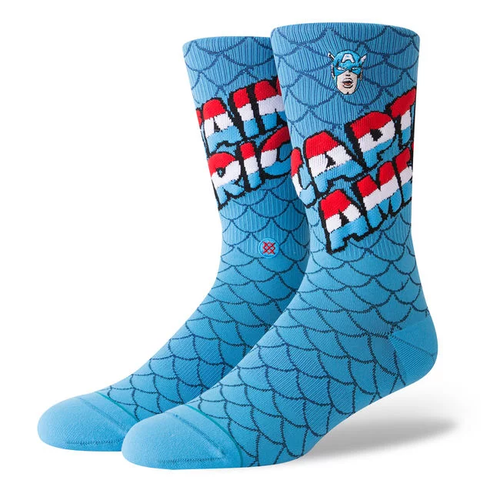 Stance Socks - Captain America - Blue