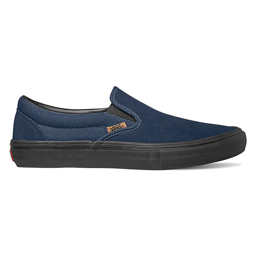 Vans Shoes - Slip-On Pro - Split Foxing Dress Blues/Black