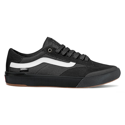 Vans Shoes - Berle Pro - Black/Black/White