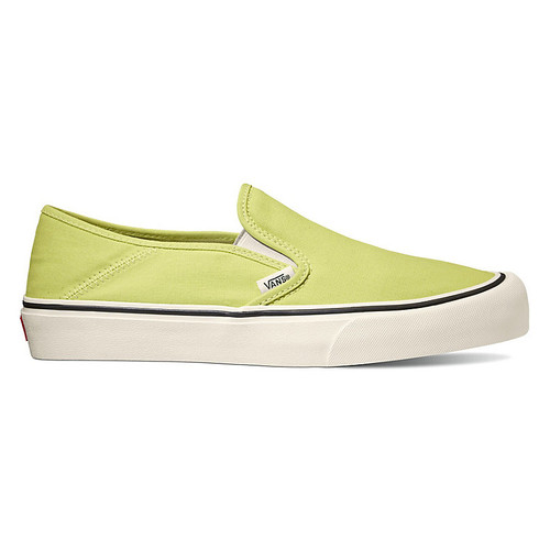 Vans Shoes - Slip-On SF - Sunny Lime/Marshmallow