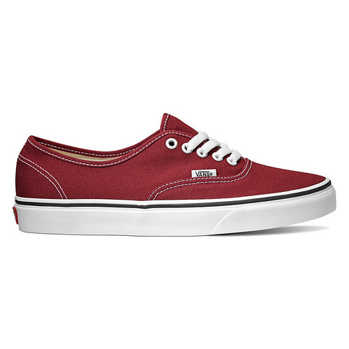 Vans Shoes - Authentic - Rumba Red/True White
