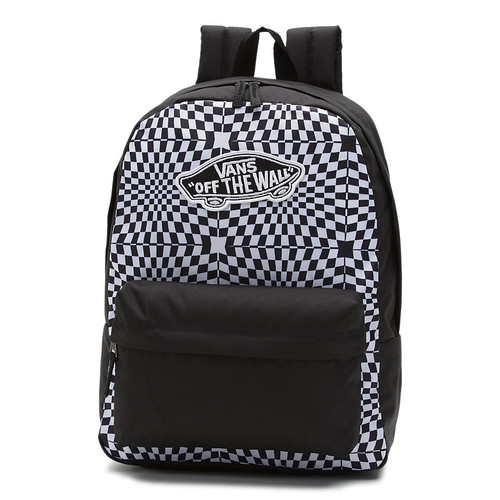 bddc88cf53 Vans Women's Backpack - Realm Classic - Fairy Tail/Checkerboard ...