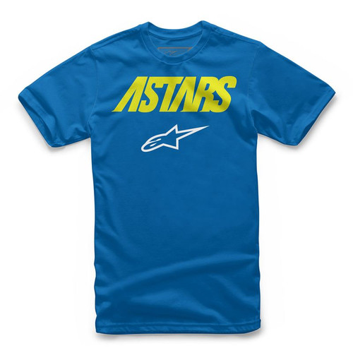 Alpinestars Boy's Tee Shirt - Angle Combo - Royal Blue