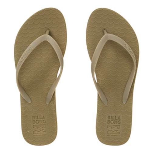 Billabong Women's Flip Flops - Good Waves - Sage