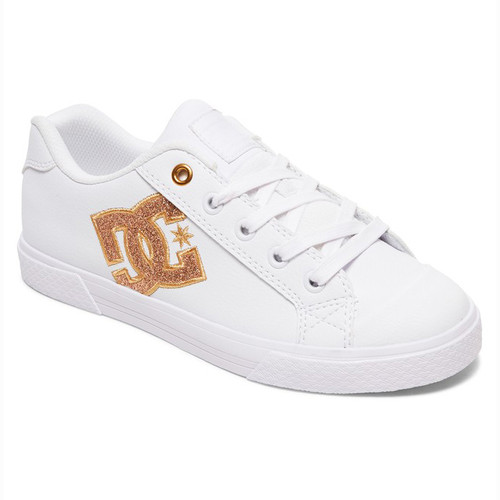 DC Women's Shoes - Chelsea SE - White/Gold