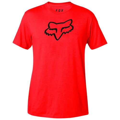 Fox Tee Shirt - Legacy Fox Head 2019 - Dark Red