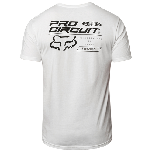 Fox Tee Shirt - Pro Circuit Premium - Optic White