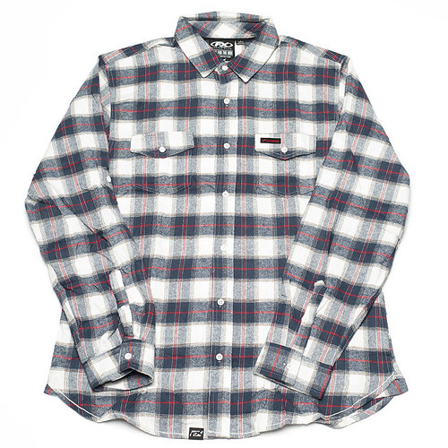 Factory Effex Woven - Honda Flannel 2.0 - Red/White