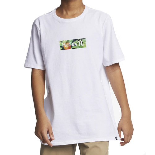 Hurley Boy's Tee Shirt - One and Only Costa Rica - White