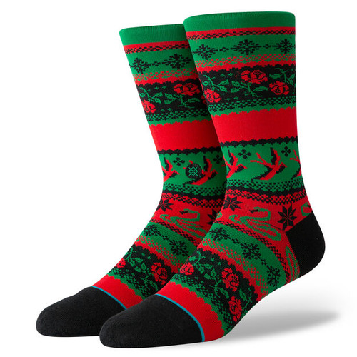 Stance Socks - Stocking Stuffer Crew - Green
