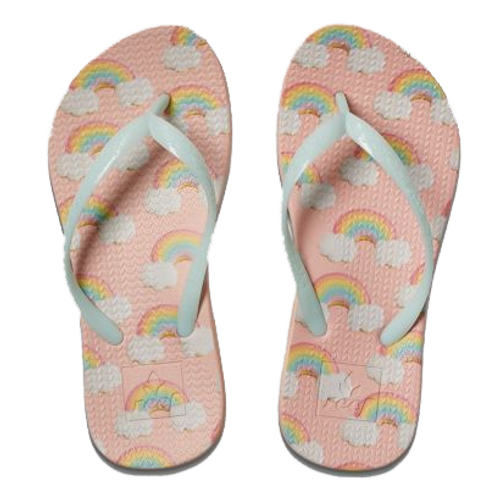 Reef Girl's Flip Flop - Escape Lux Fun - Rainbow