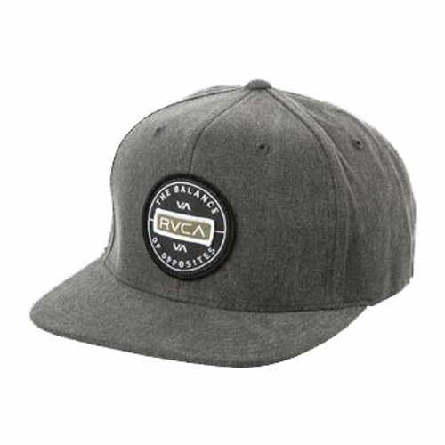 a642d9f7 RVCA Hat - Navigate Snapback - Washed Black - Surf and Dirt