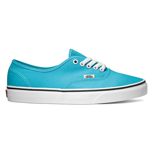 Vans Shoes - Authentic - Scuba Blue/True White