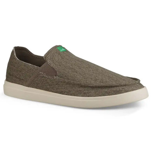 Sanuk Shoes - Pick Pocket Slip-On Sneaker - Brindle/Natural