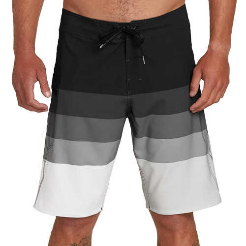 "Volcom Boardshorts - Lido Liney Mod 21"" - Black"