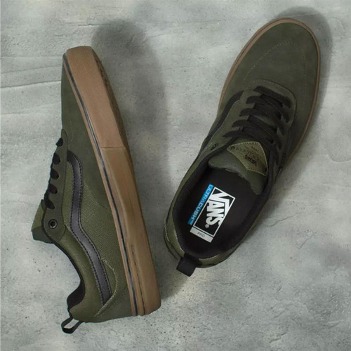 Vans Shoes - Kyle Walker Pro - (Rainy Day) Forest Night/Grape