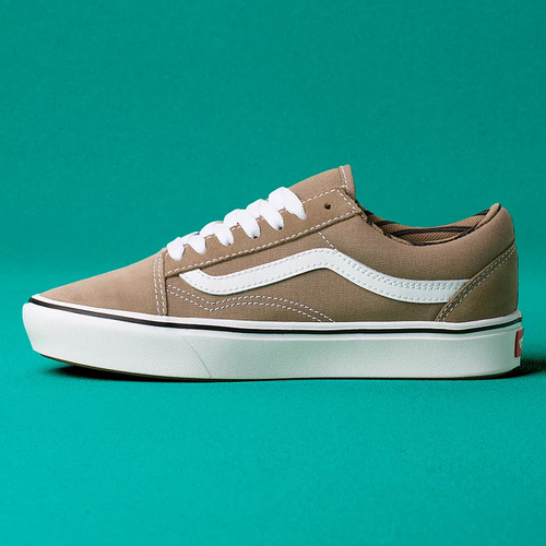 Vans Shoes - Comfycush Old Skool - Portabella/True White