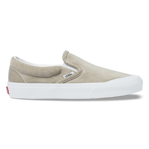 Vans Women's Shoes - Classic Slip-On TC - Grey/True White