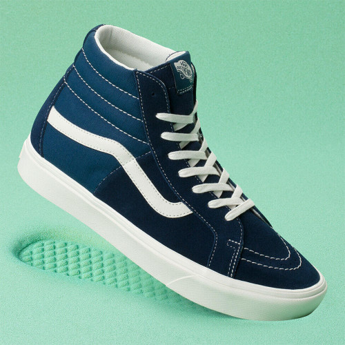 Vans Shoes - Comfycush SK8-HI Split - Dress Blues/Gibraltar Sea