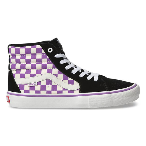 Vans Shoes - Sk8-Hi Pro - Black/Dewberry