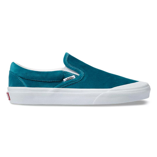 Vans Women's Shoes - Classic Slip-On TC - Blue/True White